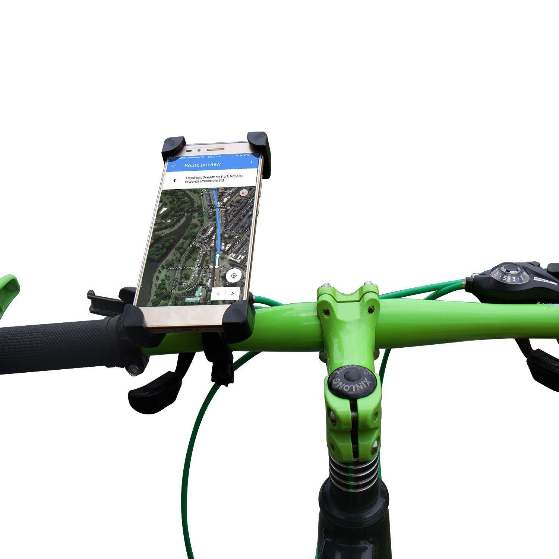 360 ° Vélo Guidon Support Téléphone Support Berceau Pour Samsung Galaxy Fold 5 g